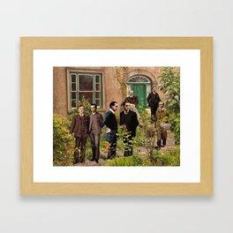 Seven Men Framed Art Print