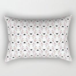 small bully gridlock Rectangular Pillow