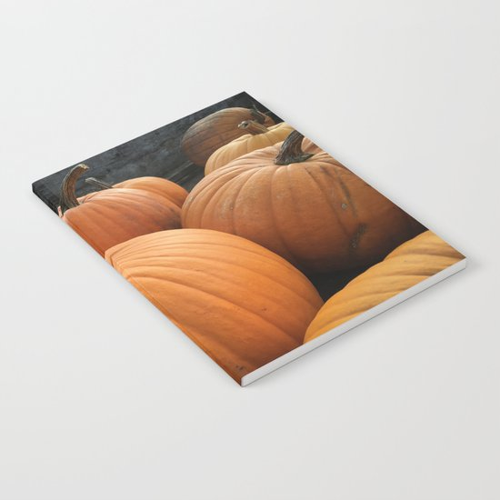 Halloween pumpkins Notebook