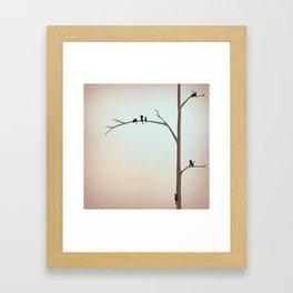 Tree Kitties Framed Art Print