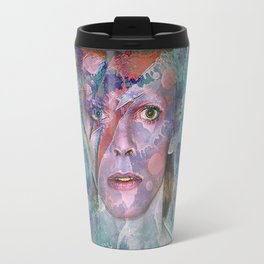 David Bowie Travel Mug