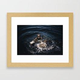 Bath, Mozambique Framed Art Print