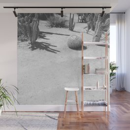 Cacti - Grayscale Wall Mural