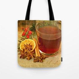 Winter Tea Tote Bag