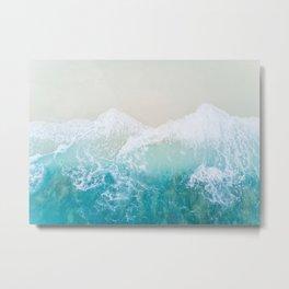 Waves 1 Metal Print