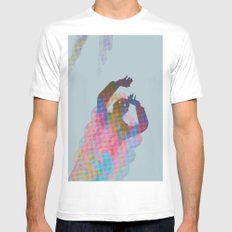 Falling Up Mens Fitted Tee White MEDIUM