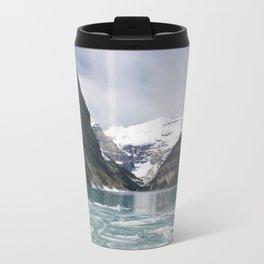 Winter Photography: Lake Louise, Banff, Canada Travel Mug