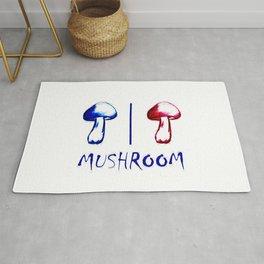 Washroom for Mushroom Rug