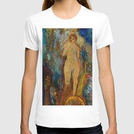 """Odilon Redon """"The Wheel of Fortune; La-Roue-de-la-Fortune"""" T-shirt"""