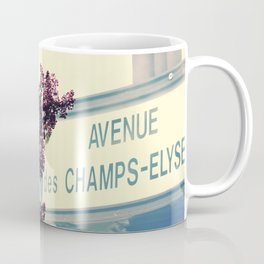 Avenue des Champs Elyse Coffee Mug