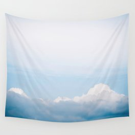 Mountainous Clouds Wall Tapestry