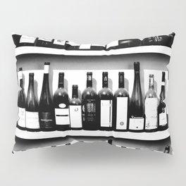 Wine Bottles in Black And White #society6 #decor Pillow Sham