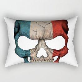 Exclusive France skull design Rectangular Pillow