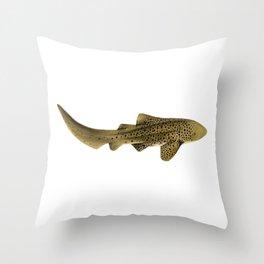 LEOPARD/ZEBRA SHARK Throw Pillow
