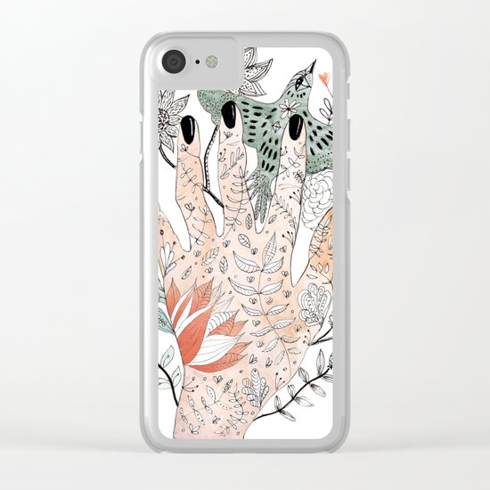 Free The Bird Clear iPhone Case