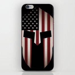 USA Spartan  iPhone Skin