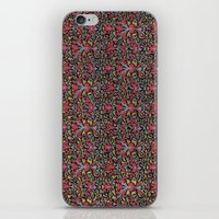 wallpaper iPhone & iPod Skins featuring Wallpaper by Cyrille Savelieff