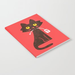 Fitz - Hungry hungry cat (and unfortunate mouse) Notebook