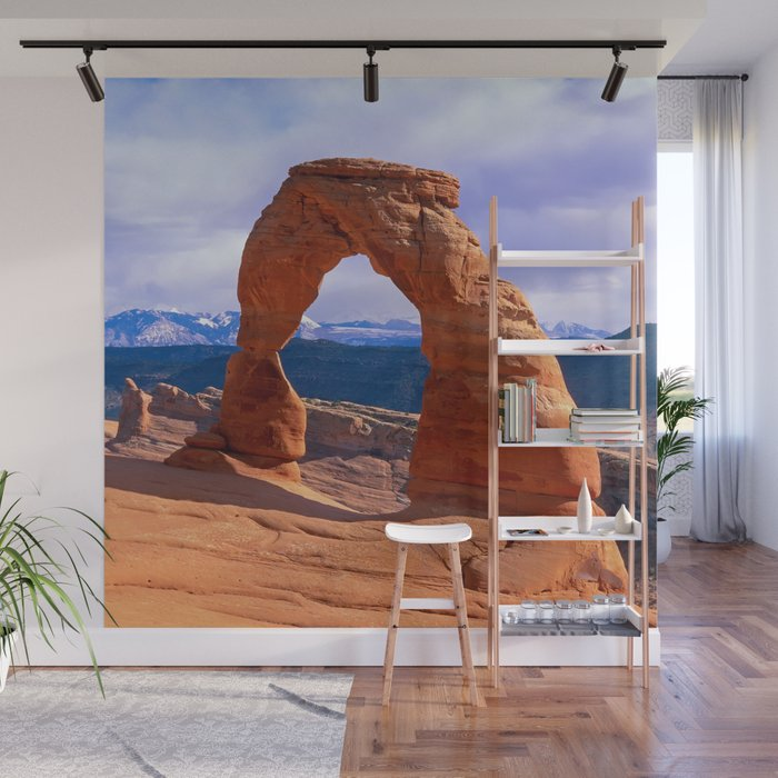Arches National Park Wall Mural By Leksele Society6