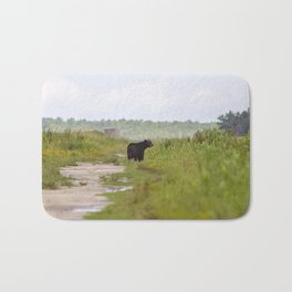 Adult Black Bear Bath Mat