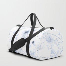 Festive watercolor flowers 26 Duffle Bag