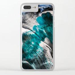 Eruption 1 Clear iPhone Case