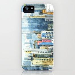 Hong Kong Skyline iPhone Case