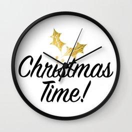 CHRISTMAS TIME! Wall Clock