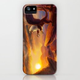 Morning Gryphon iPhone Case