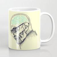 heisenberg Mugs featuring Heisenberg by Mike Koubou
