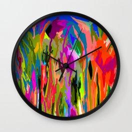 Prairie Grasses Wall Clock