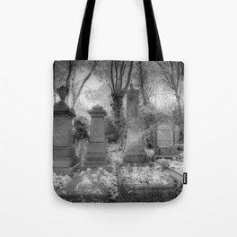Highgate Cemetery London Tote Bag