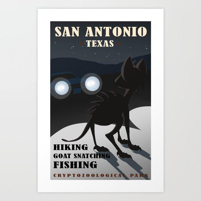 CPS: San Antonio, TX Art Print