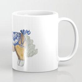 Blue Ribbon Mini Horse Coffee Mug