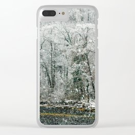Eight Days of Falling Clear iPhone Case