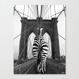 What If_Zebra Canvas Print