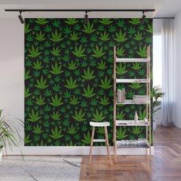 Infinite Weed Wall Mural