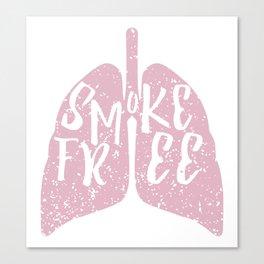 Smoke Free Canvas Print