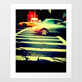 CROSSING.GUARD Art Print