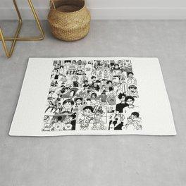 Haikyuu!! - Manga Collage Rug