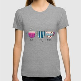 Hot Cup Coffee Gouache Painting T-shirt