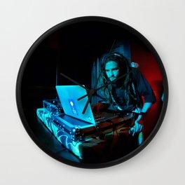 DJ Joshua Pocalypse - Electronic Music Wall Clock
