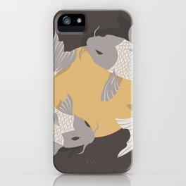 Koi fish 003 iPhone Case