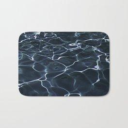 DARK BLUE -  WATER Bath Mat