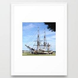 Friendship in Salem Framed Art Print