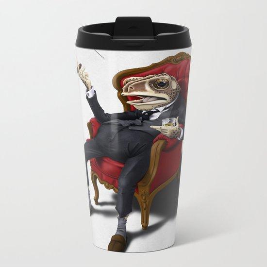 Fly in my soup! Metal Travel Mug