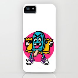 Perverted ice cream iPhone Case