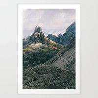 First glimpse of the refuge Art Print
