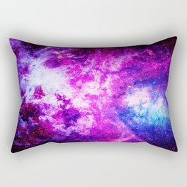 Purple Blue nebuLA Rectangular Pillow