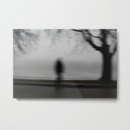 Foggy Loneliness Metal Print